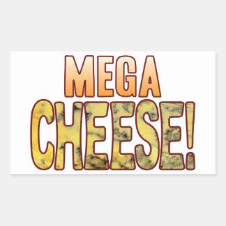 Mega Blue Cheese Rectangular Sticker