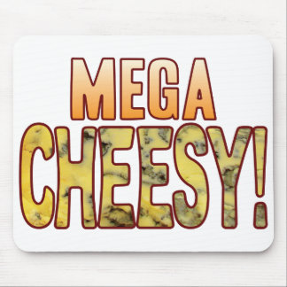 Mega Blue Cheesy Mouse Mat