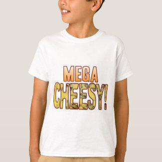 Mega Blue Cheesy T-Shirt