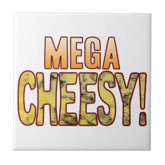 Mega Blue Cheesy Tile