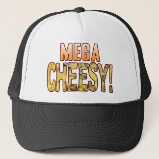 Mega Blue Cheesy Trucker Hat