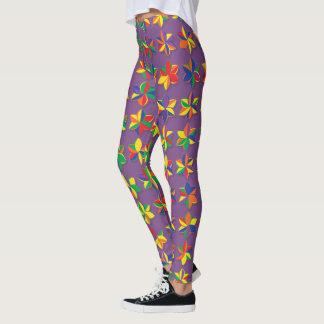 Mega Color Flowers Leggings