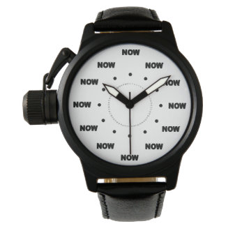 "Mega Cool ""NOW"" (White Background) #1 Watch"
