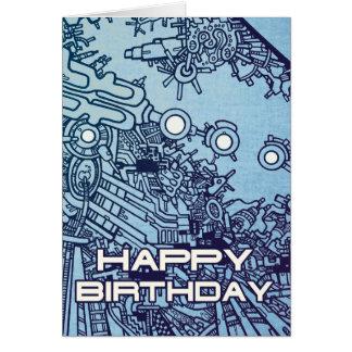 Mega Doodle Birthday 2 Card