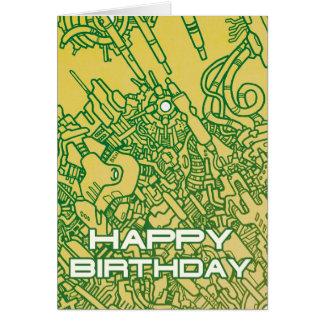Mega Doodle Birthday 4 Card