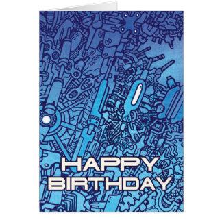 Mega Doodle Birthday 6 Card