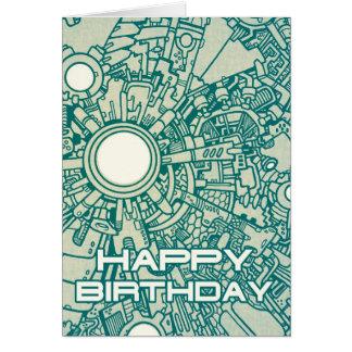 Mega Doodle Birthday Card