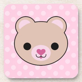 Mega Kawaii Bear Cork Coaster