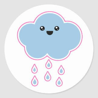 Mega Kawaii Cloud Drizzle Sticker