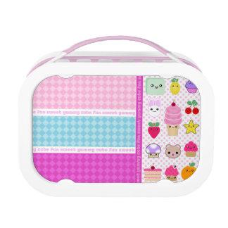 Mega Kawaii Cupcake and Friends Lunchbox