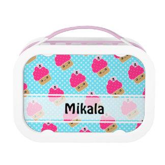 Mega Kawaii Cupcake Personalized Lunchbox