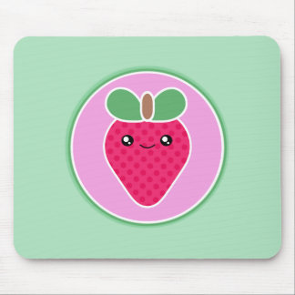 Mega Kawaii Sweet Strawberry Mouse Mat