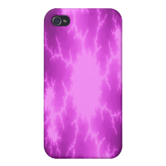 Mega Lightning Fractal  iPhone 4/4S Case
