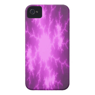 Mega Lightning Fractal iPhone 4 Case