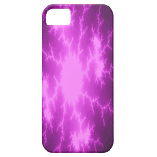 Mega Lightning Fractal iPhone Case