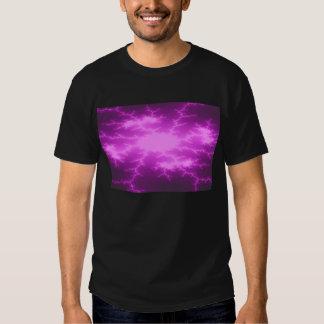 Mega Lightning Fractal Mens T Shirt
