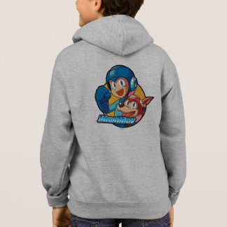 Mega Man & Rush 2 Hoodie