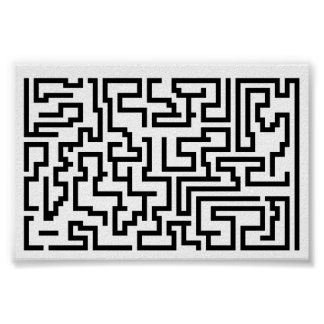 Mega Maze Print