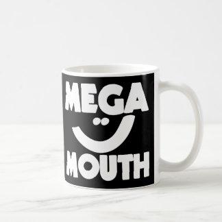 Mega Mouth Classic White Coffee Mug