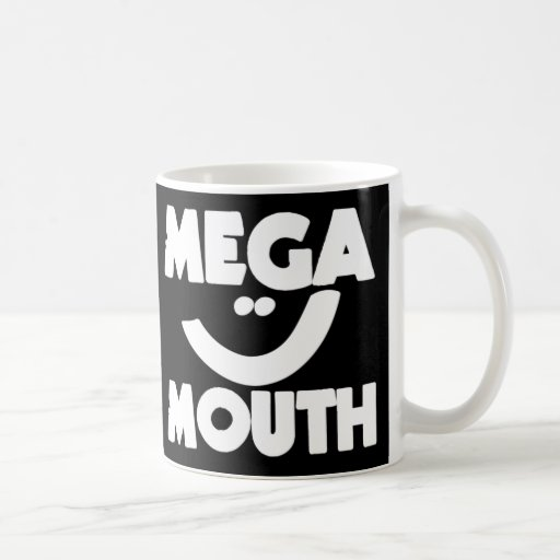 Mega Mouth Mug