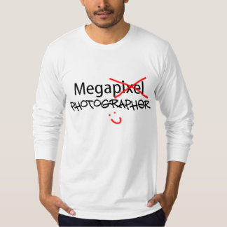 Mega Photographer - White Long Sleeve T-Shirt