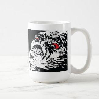 Mega Rage Basic White Mug