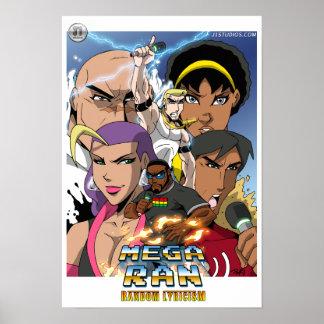 Mega Ran: Random Lyricism Cover Poster