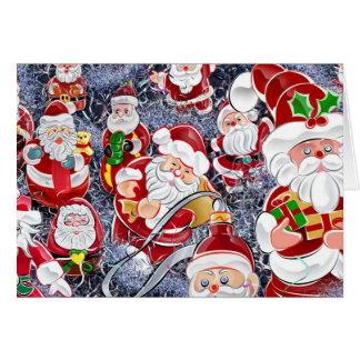 Mega Santas Card