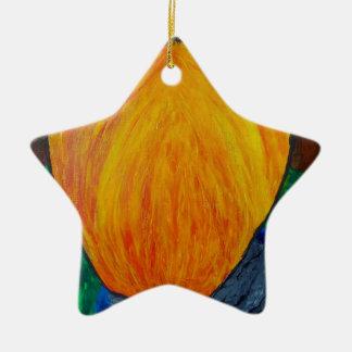 Megalo Milo Ceramic Star Decoration