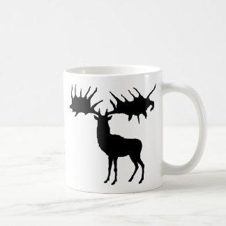 Megaloceros silhouette Mug