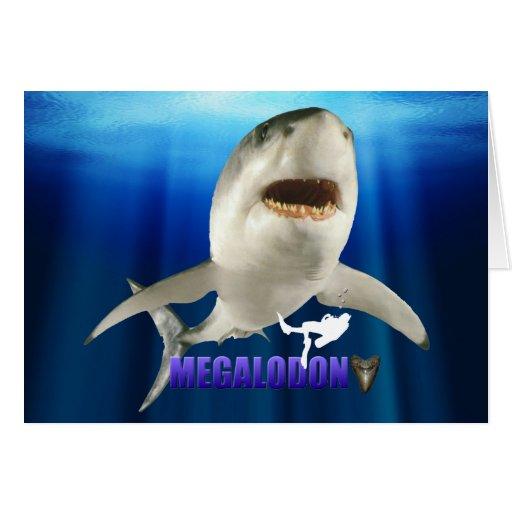 Megalodon Card