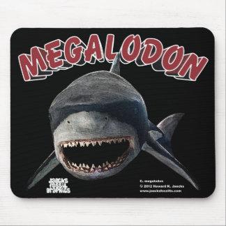 Megalodon Shark Mouse Mat