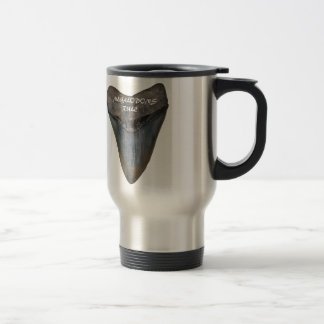 Megalodon Shark Tooth Travel Mug