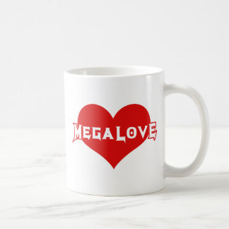 Megalove Metal Valentines Day Mugs