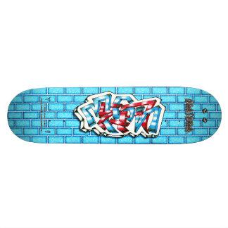 Megan 02 ~ Custom Graffiti Art Pro Skateboard