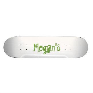 Megan's Skateboard Decks