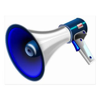 megaphone-1578-trjmp postcard