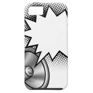 Megaphone Comic Book Speech Bubble Case For The iPhone 5