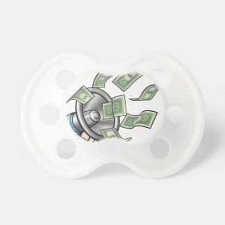 Megaphone Money Concept Dummy