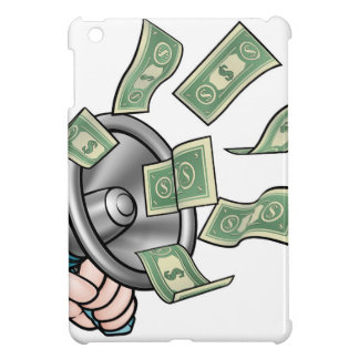 Megaphone Money Concept iPad Mini Covers