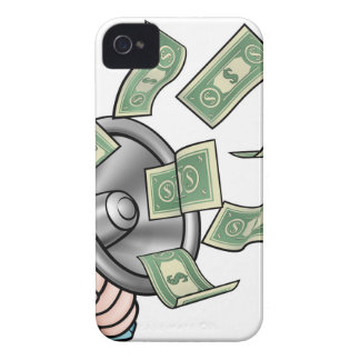 Megaphone Money Concept iPhone 4 Covers