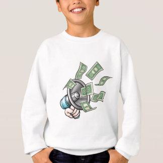 Megaphone Money Concept Sweatshirt