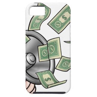 Megaphone Money Concept Tough iPhone 5 Case
