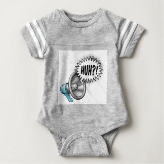 Megaphone Speech Bubble Concept Baby Bodysuit