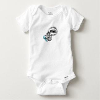 Megaphone Speech Bubble Concept Baby Onesie