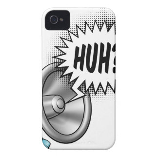 Megaphone Speech Bubble Concept Case-Mate iPhone 4 Cases