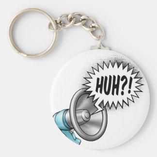 Megaphone Speech Bubble Concept Key Ring