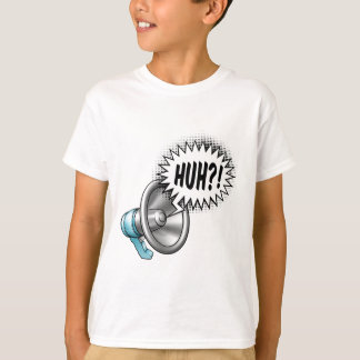 Megaphone Speech Bubble Concept T-Shirt