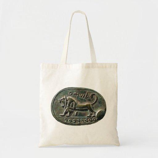Megiddo Seal Canvas Bag