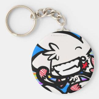 Megumi Icon Basic Round Button Key Ring